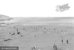 Tennis On The Sands 1887, Newquay