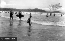 Newquay, The Beach 1925