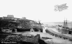 Newquay, The Harbour 1894