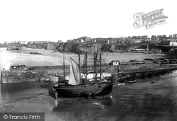 Newquay, The Harbour 1904