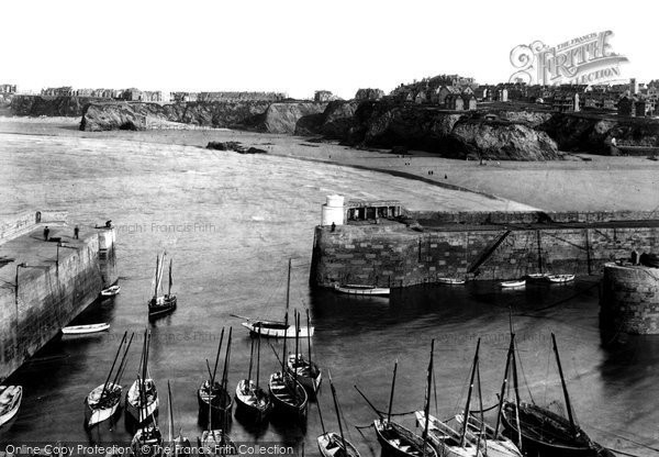 Photo of Newquay, the Harbour 1907