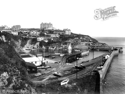 Newquay, The Harbour 1925