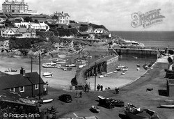 Newquay, The Harbour c.1960