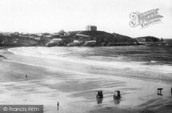 Newquay, The Sands 1894