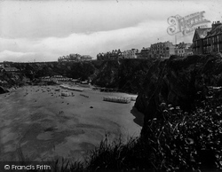 Newquay, Tolcarne Beach 1930