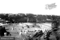 Newquay, Towan Beach 1901