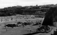 Newquay, Towan Beach c1960