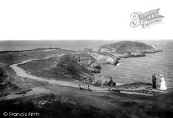 Newquay, Towan Head 1907