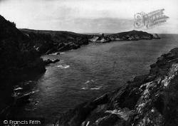 Newquay, Towan Head 1918