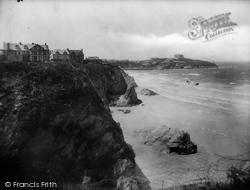 Newquay, Trebarwith And The Headland 1930