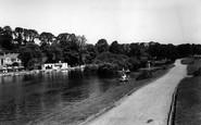 Newquay, Trenance Gardens c1960