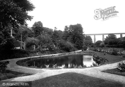 Newquay, Trenance Park And Viaduct 1912