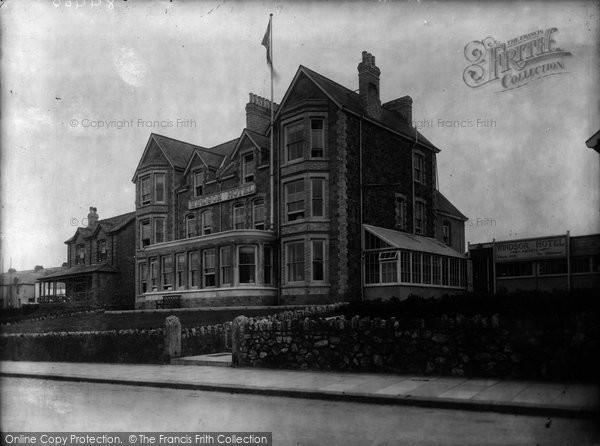 Photo of Newquay, Windsor Hotel 1931