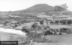 And The Eildon Hills c.1955, Newstead