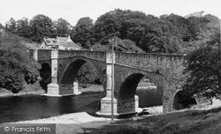 Leaderfoot Road Bridge c.1955, Newstead