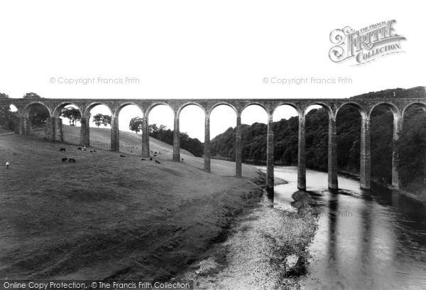 Newstead, Leaderfoot Viaduct c.1955