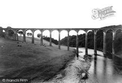 Leaderfoot Viaduct c.1955, Newstead