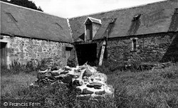 Remains Of Oldest Masonic Lodge In Scotland c.1955, Newstead
