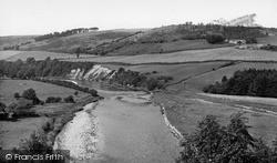 River Tweed c.1955, Newstead