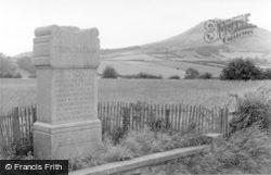 Trimontium And The Monument c.1955, Newstead