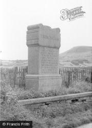 Trimontium Monument c.1955, Newstead