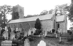 Newton Abbot, All Saints Church, Highweek 1895