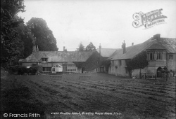 Newton Abbot, Bradley Manor House 1901