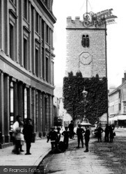 Newton Abbot, Clock Tower 1890