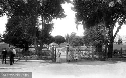 Newton Abbot, Courtenay Park 1906