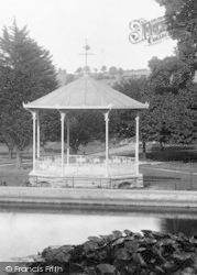 Newton Abbot, Courtenay Park, Bandstand 1907