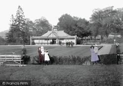 Newton Abbot, Courtenay Park Bowling Green 1910