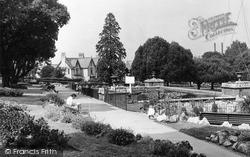 Newton Abbot, Courtenay Park c.1955