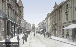 Courtenay Street 1895, Newton Abbot