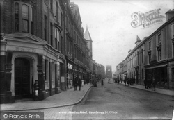 Newton Abbot, Courtenay Street 1901