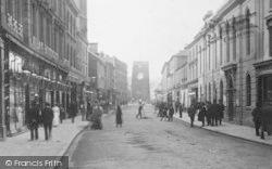 Courtenay Street 1901, Newton Abbot