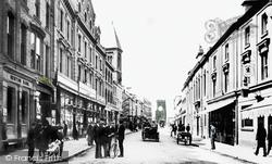 Newton Abbot, Courtenay Street 1906