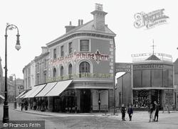 Newton Abbot, Courtenay Street 1910