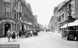 Newton Abbot, Courtenay Street 1930