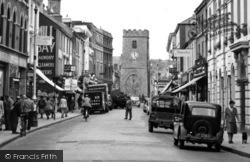 Newton Abbot, Courtenay Street c.1955