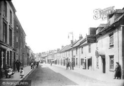 Newton Abbot, East Street 1906