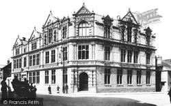 Newton Abbot, Free Libarary 1906