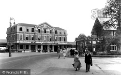 Newton Abbot, Great Western Station 1927