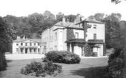 Newton Abbot, Haccombe House 1890