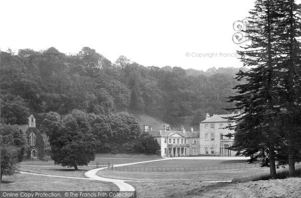Photo of Newton Abbot, Haccombe House 1890