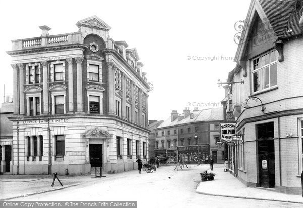 Newton Abbot, Lloyds Bank 1910