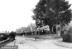 Newton Abbot, Mackrell's Almshouses 1899