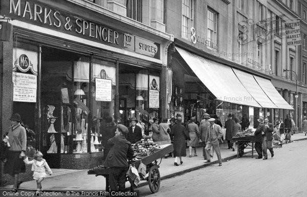 Newton Abbot Marks Amp Spencer Courtenay Street 1930