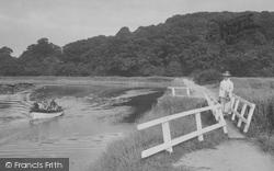 Newton Abbot, On The River Teign 1922