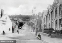 Newton Abbot, Powderham Road 1907