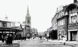 Newton Abbot, Queen Street 1918